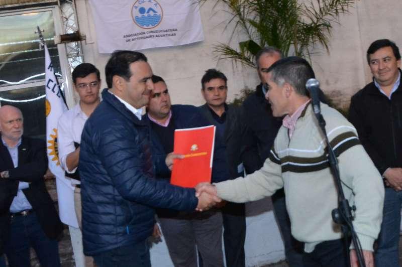 El Gobernador inauguró obras de canalización que paliarán las inundaciones en barrios vulnerables de Curuzú Cuatiá