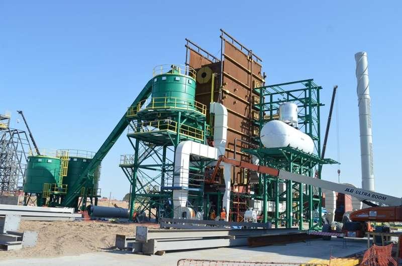 Visita a la planta de Biomasa en Santa Rosa, recorrida de obras y reuniones con productores