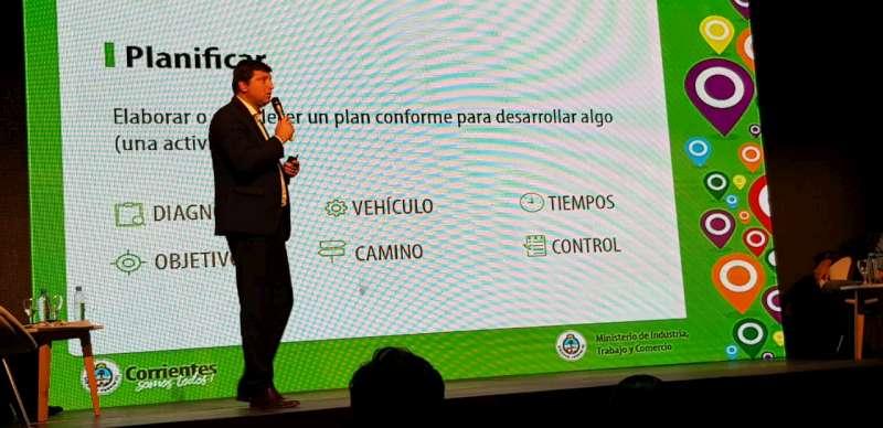Corrientes expuso en Somos Industria sus potencialidades para atraer inversiones