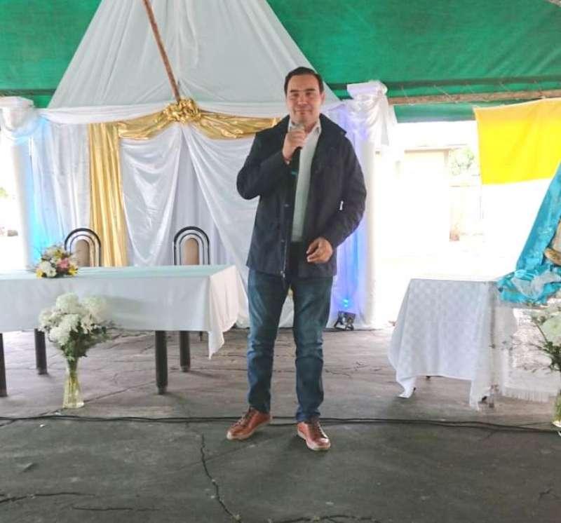 El gobernador Valdés saludó a los participantes por la fiesta del día del Camino