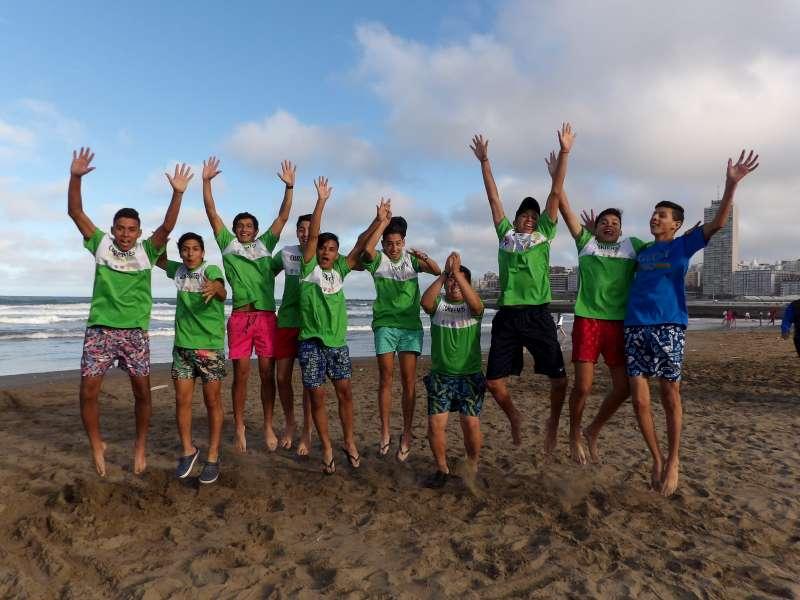 Este sábado 5 de octubre viaja a Mar del Plata la delegación correntina que participará en los Juegos Evita