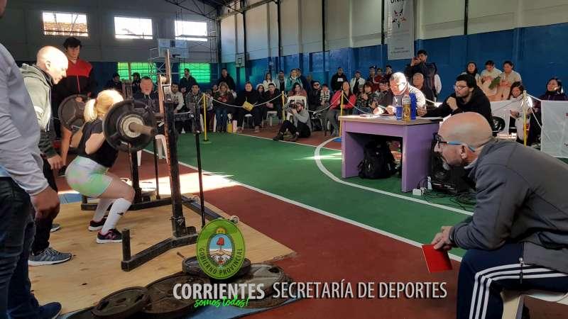 Corrientes sede del Campeonato Nacional de Powerlifting