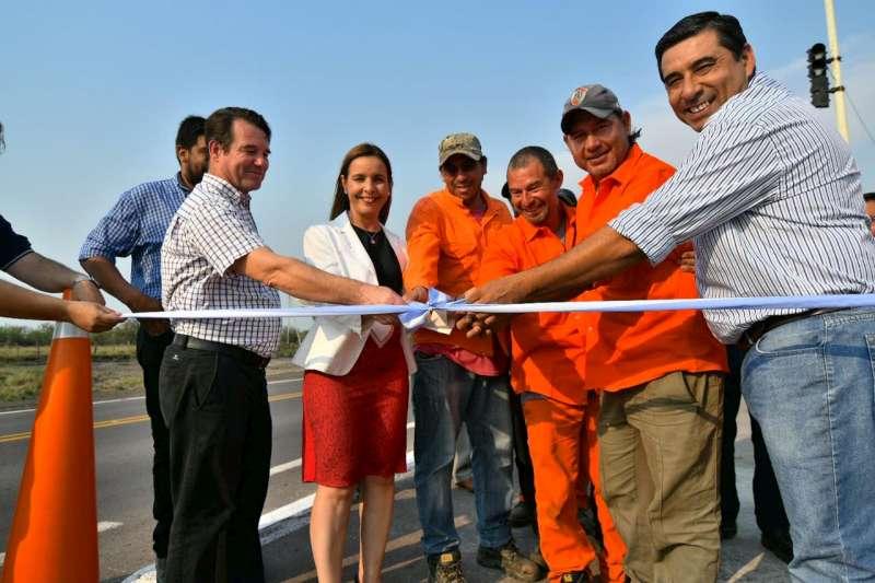 El Gobierno Nacional inauguró la rehabilitación integral de la ruta 123