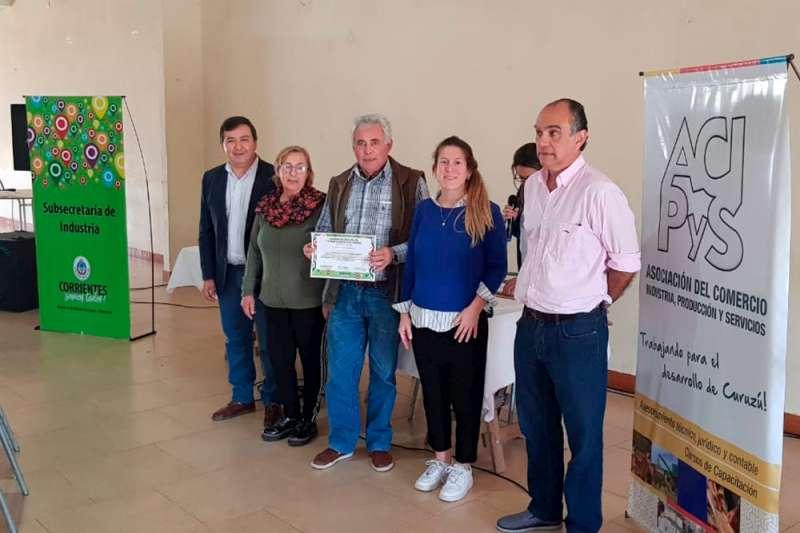 Industria realizó un curso de manipulación de alimentos en Curuzú Cuatiá