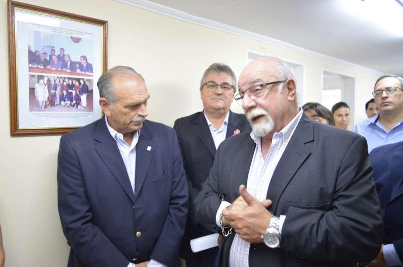 Homenaje a Raúl Alfonsín en el Concejo Deliberante