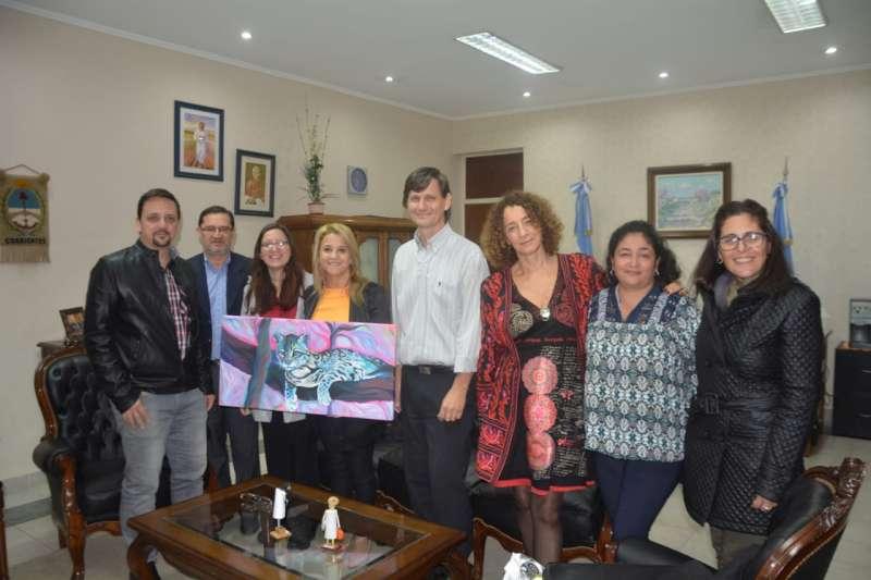 La ministra de Educación recibió en su despacho a Inés Sanguinetti