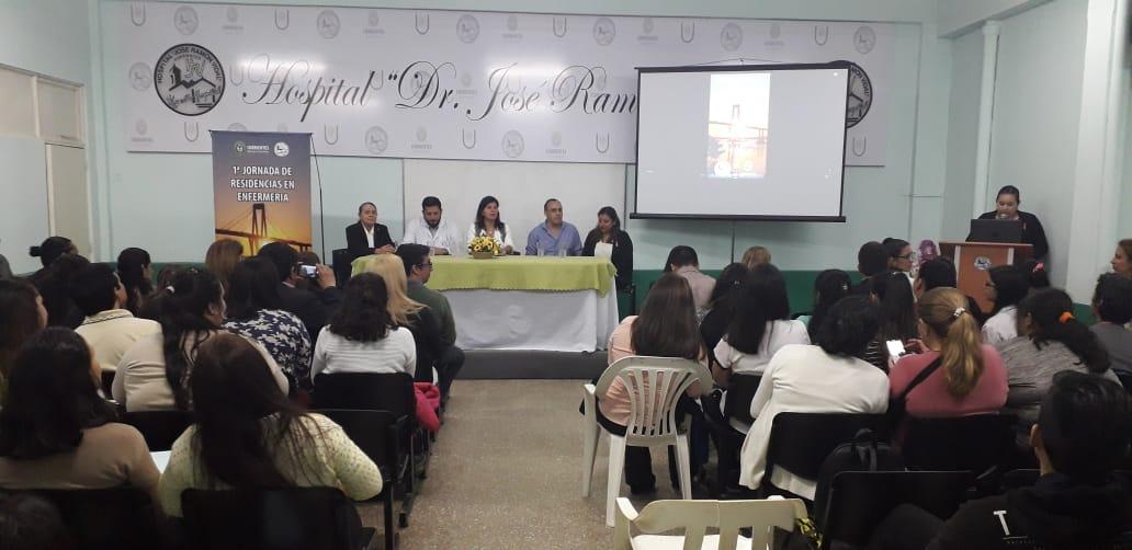 Salud Pública realizó la Primer Jornada de Residencias en Enfermería del Hospital Vidal