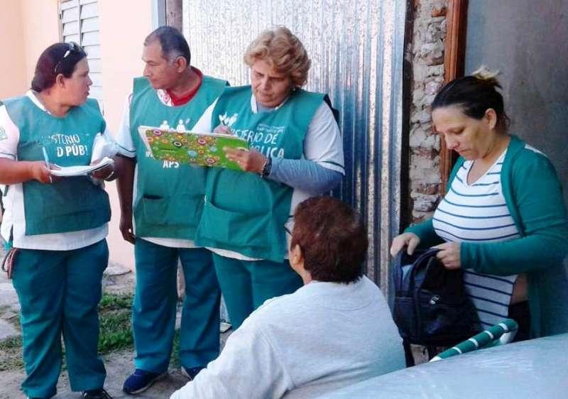 La Provincia realizó un operativo de salud en el barrio Esperanza