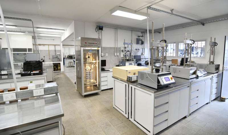 Vialidad Nacional pone en funcionamiento un laboratorio con tecnología de última generación