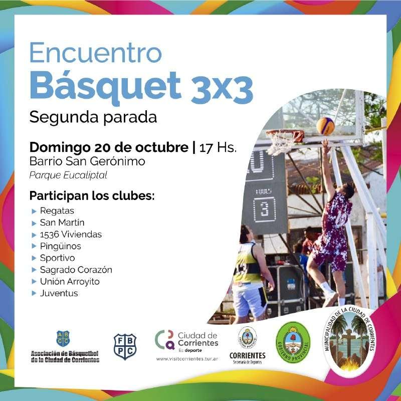 La Municipalidad prepara la segunda parada del básquet 3×3