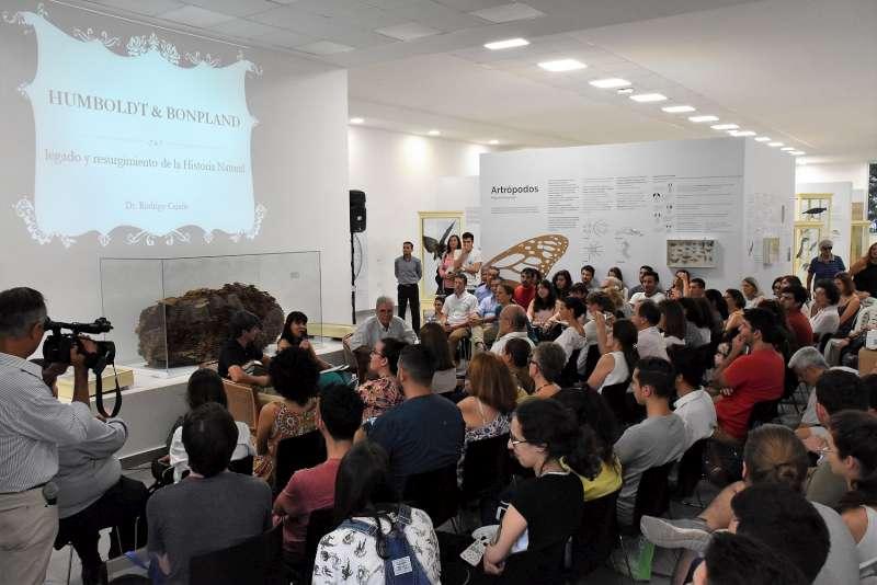 Café científico en homenaje a Amado Bonpland y Alexander Von Humboldt