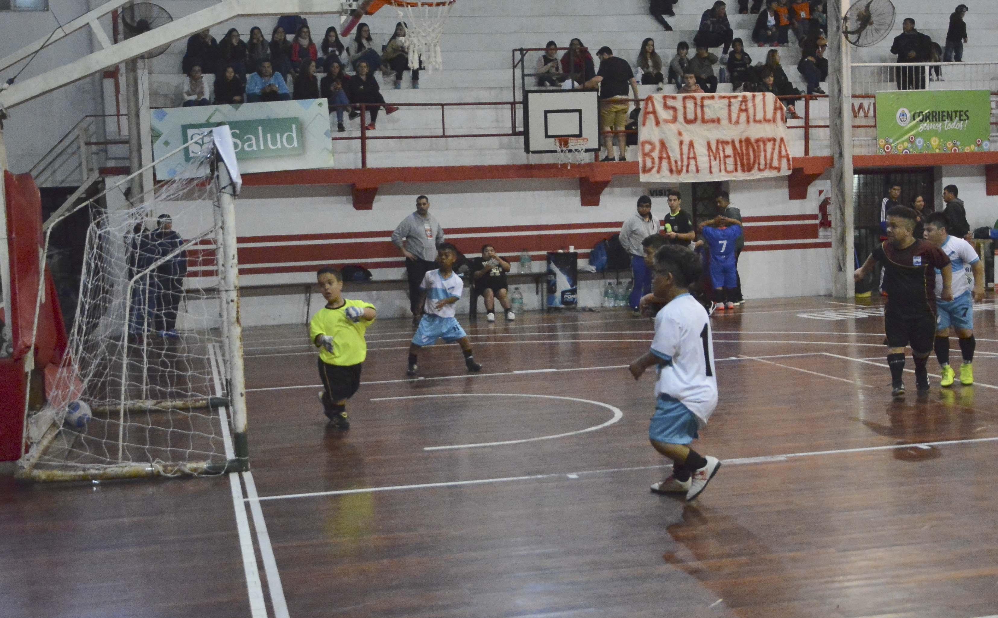 Continúa con éxito el 1° Torneo Nacional de Fútbol Inclusivo