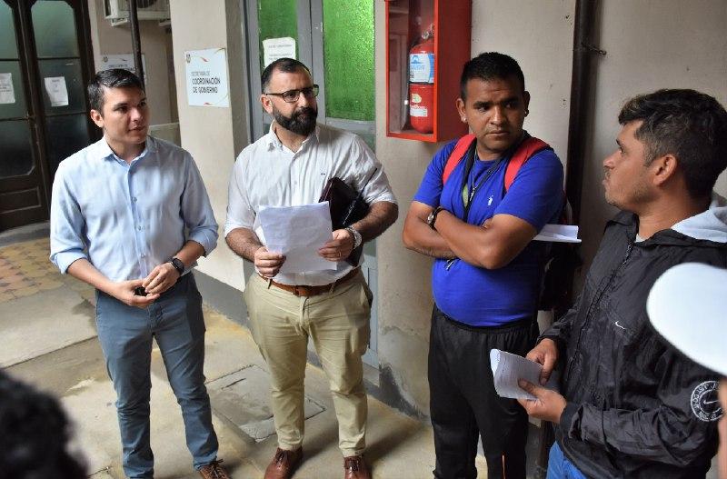 Funcionarios municipales se reunieron con trabajadores del Estacionamiento Medido y atendieron sus demandas
