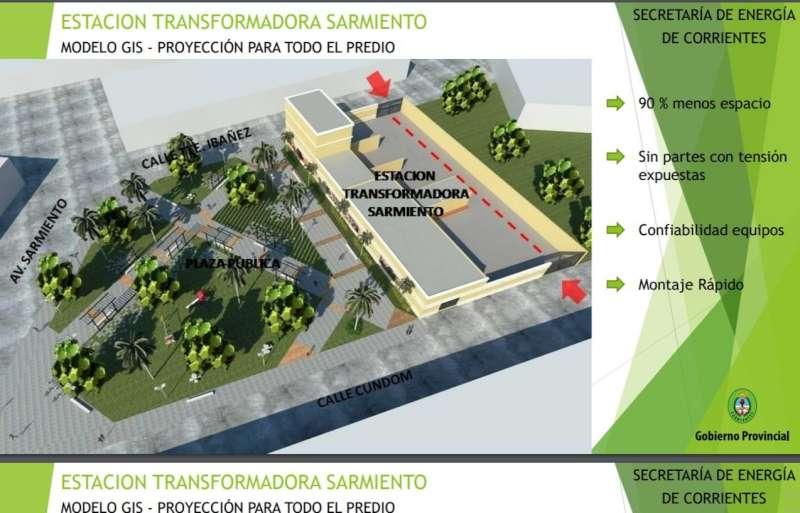 """ICAA autorizó ambientalmente a la Estación Trasformadora """"Sarmiento"""""""