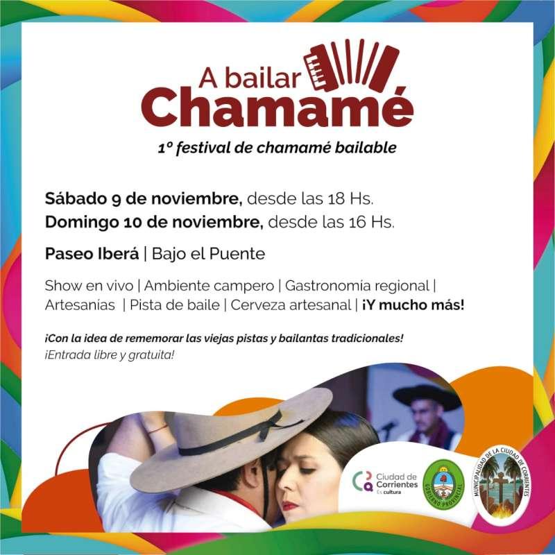 Corrientes se prepara para el primer festival del chamame bailable