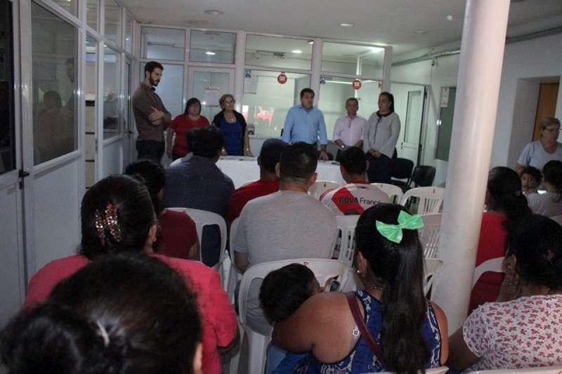 El ICAA atendió a familias de Santa Rosa