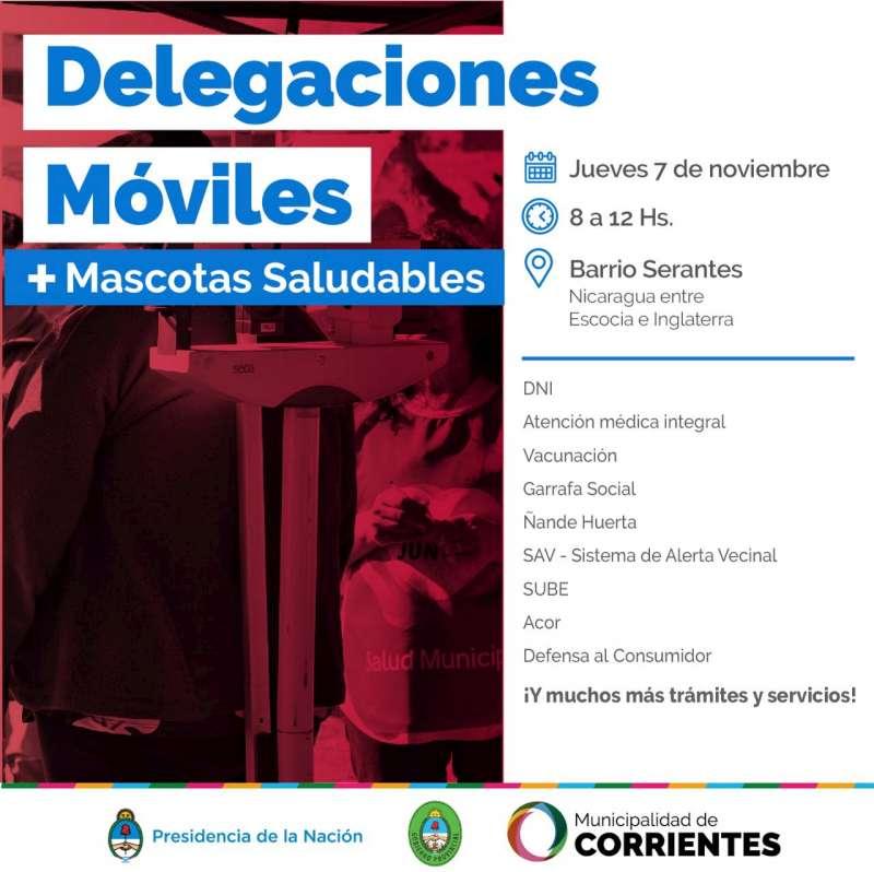 Delegaciones Móviles y Mascotas Saludables estarán este jueves en el barrio Serantes