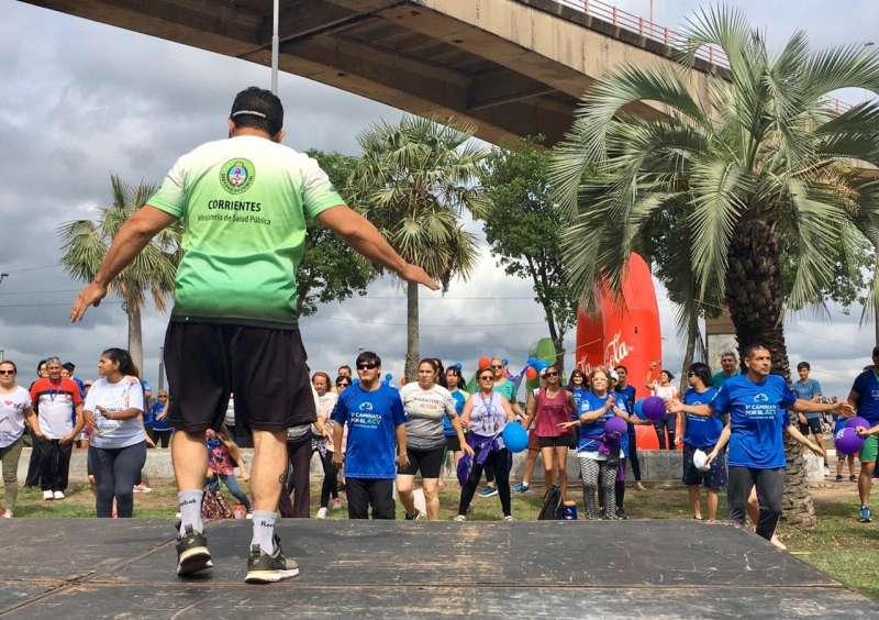 Más de 500 personas caminaron por una vida libre de ACV y para concientizar sobre la Diabetes