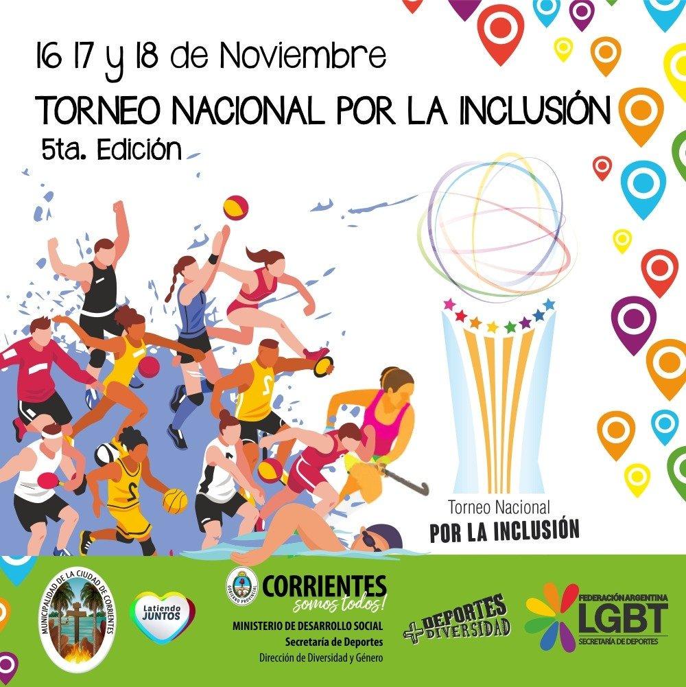 Este fin de semana se llevará a cabo el Torneo Nacional por la Inclusión Género y Diversidad