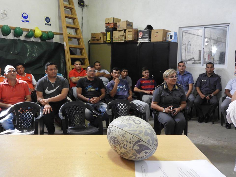 La Subsecretaría de Trabajo lanzó curso para internos de la Unidad Penal Nº 1