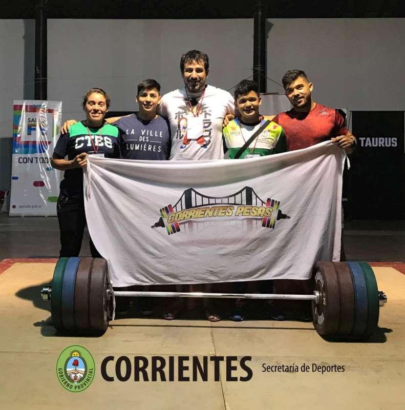 Levantamiento Olímpico de Pesas, nuevos Logros para Corrientes