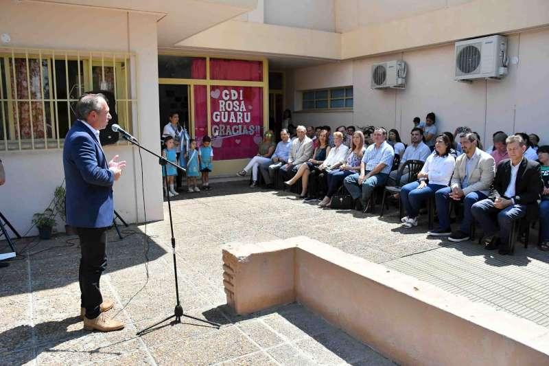 """Se inauguraron las refacciones en el CDI """"Rosa Guarú"""" del barrio Ferré"""