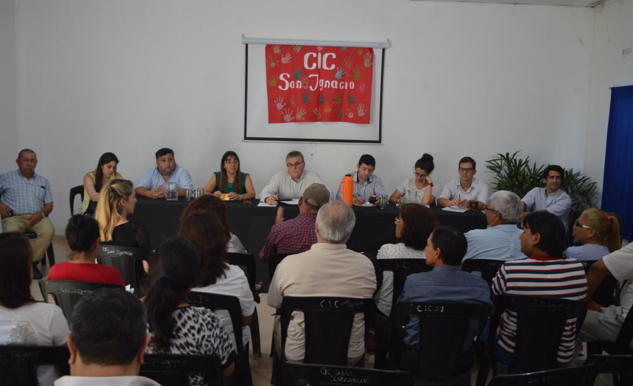 El Concejo sesionará en el barrio Santa Rita