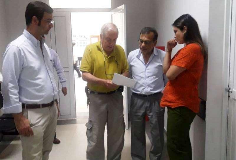 Salud fortalece la articulación del hospital de Riachuelo con los de la capital