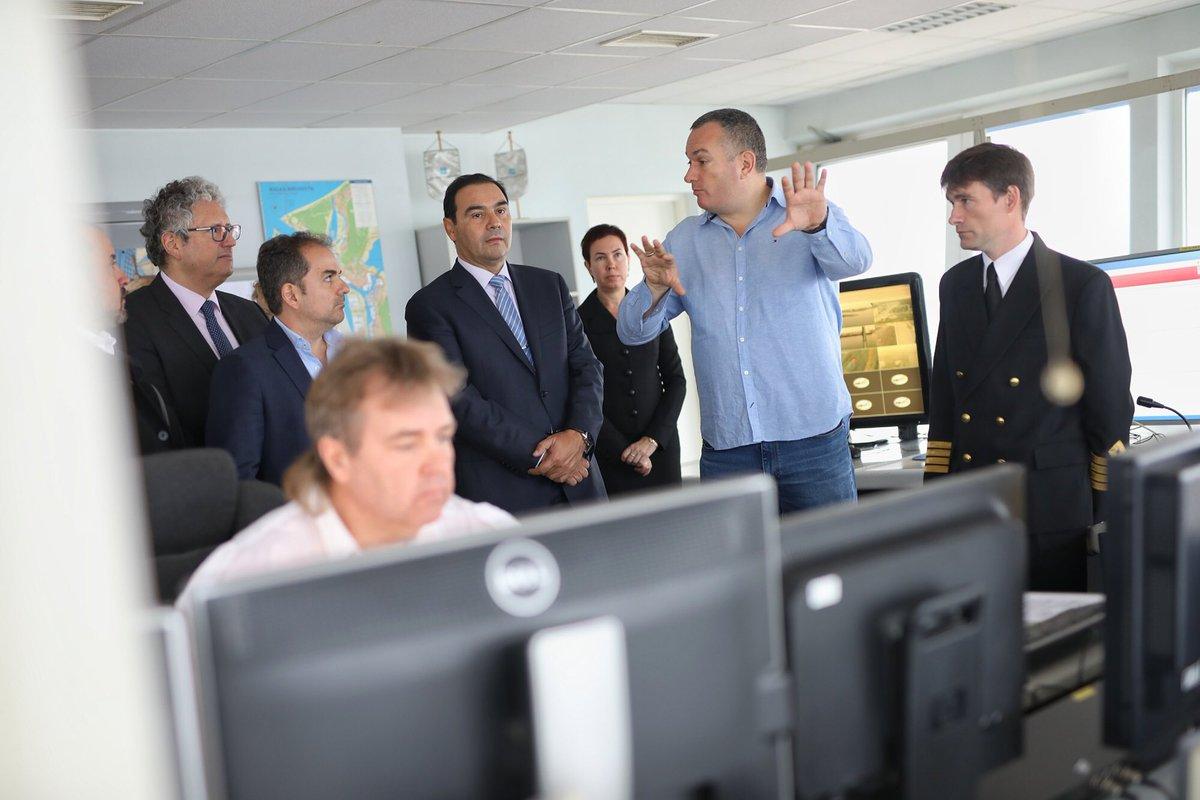 Valdés estudia el sistema portuario de Riga para aplicarlo en Corrientes