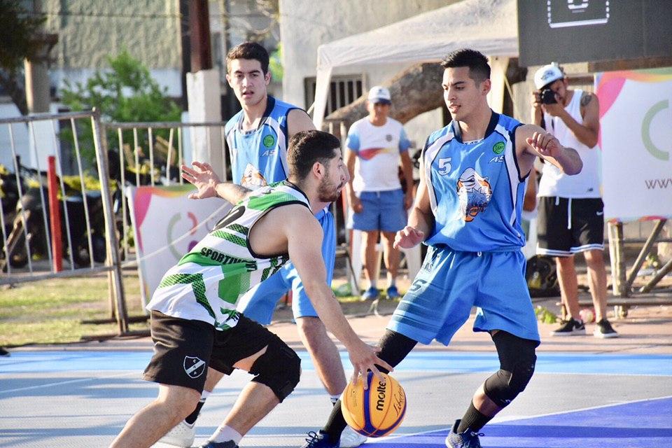 El domingo se realizará la segunda parada del básquet 3×3