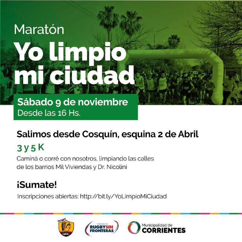 """El sábado habrá """"Maratón de la limpieza"""" en las Mil viviendas"""