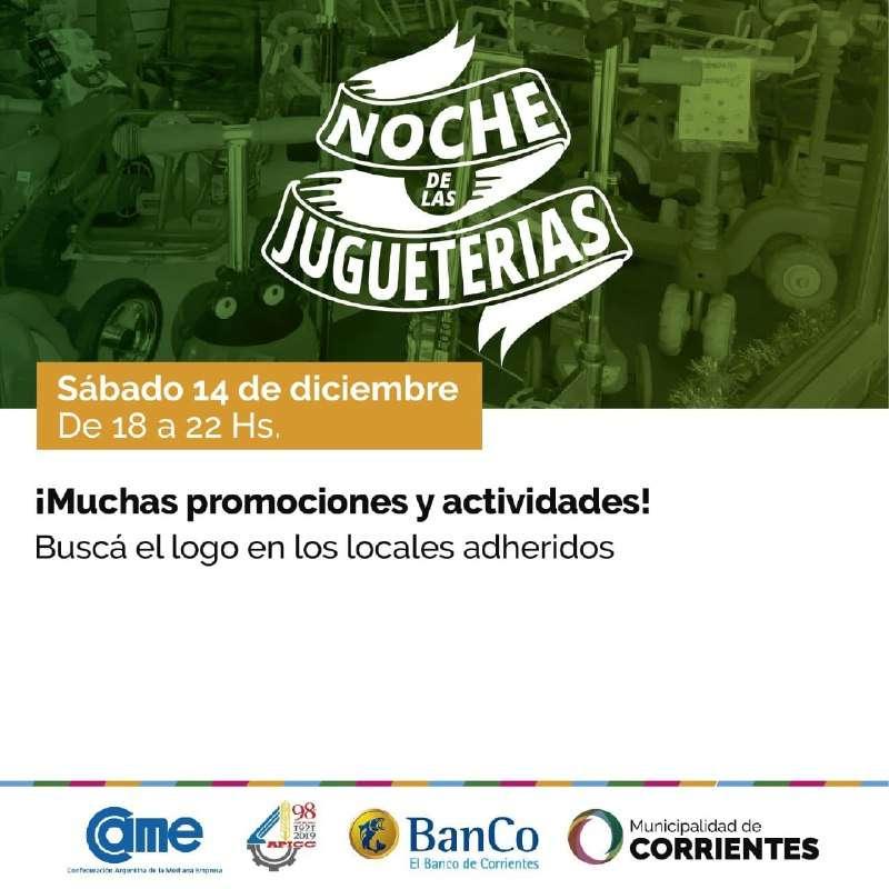 Llega La Noche de las Jugueterías a Corrientes con muchas promociones