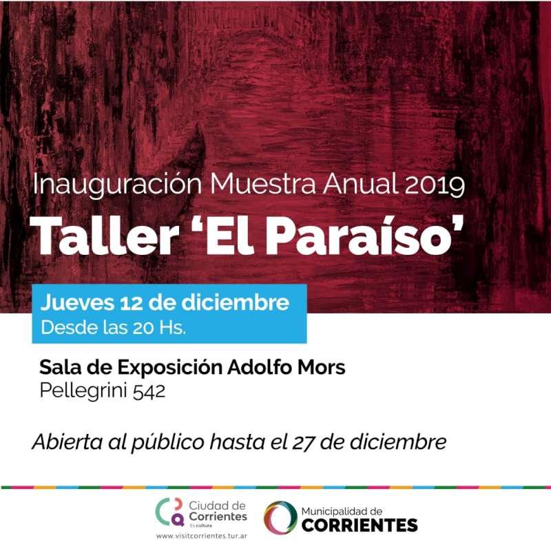 Muestra anual del taller «El Paraíso» en la sala Adolfo Mors