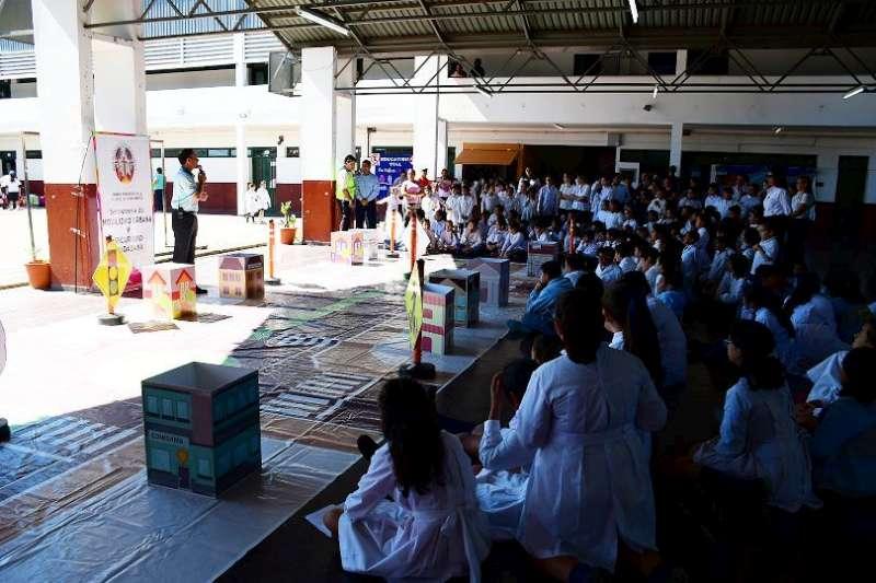 Seguridad vial: la Municipalidad recorrió 38 escuelas y capacitó a más de 6400 alumnos