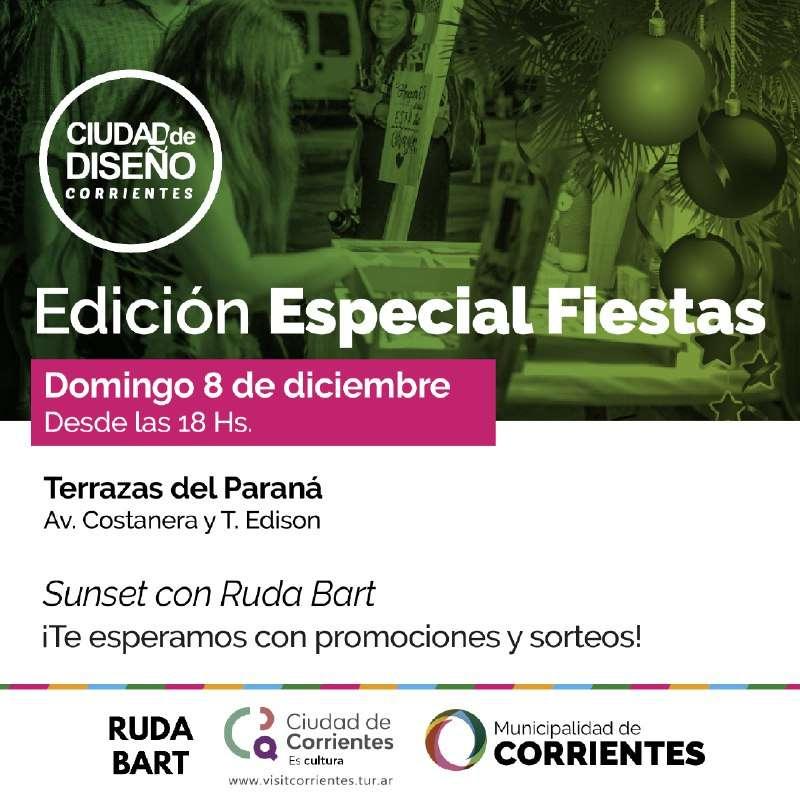 """Emprendedores correntinos cierran el año con """"Ciudad diseño"""" y el """"Festival de cerveza artesanal"""""""