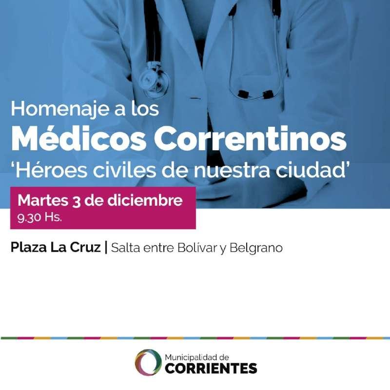 La Municipalidad realizará un homenaje por el Día del Médico