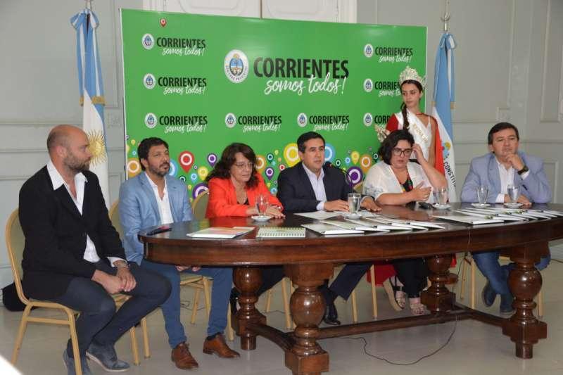 Presentaron en Gobernación el Carnaval curuzucuateño 2020