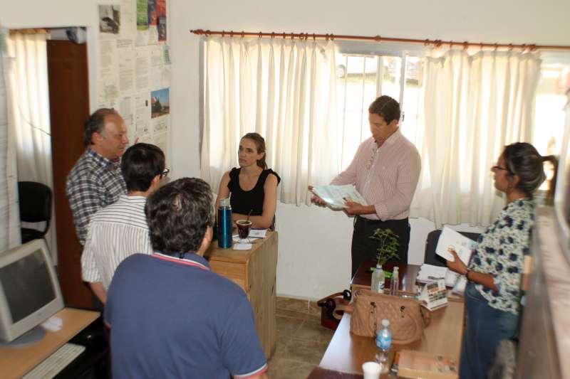 Visita institucional de la Defensoría del Pueblo a Monte Caseros