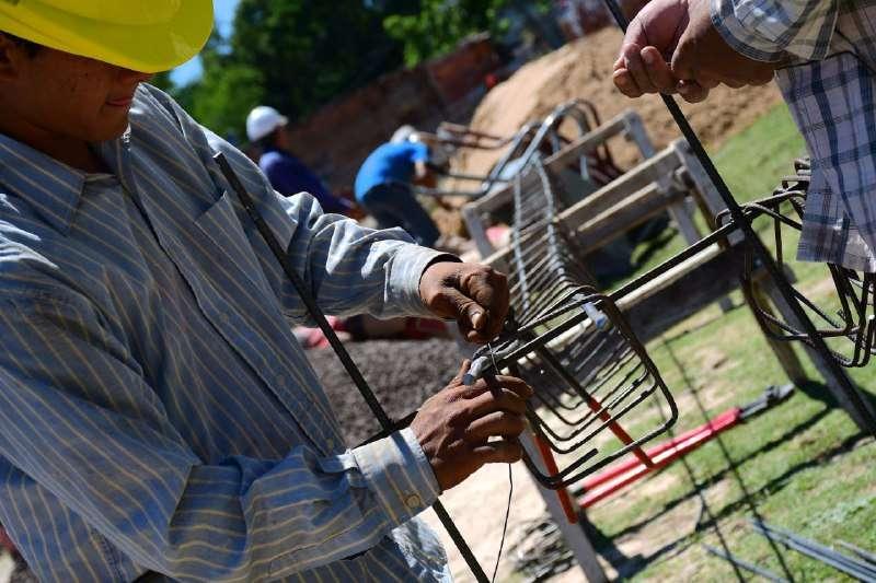 Barrio Bañado Sur: comenzaron la construcción de las viviendas para reubicar a las familias