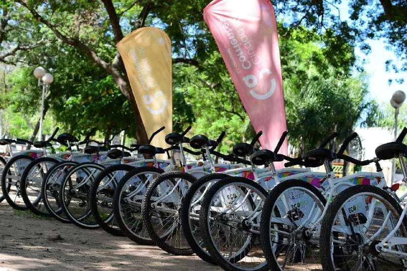 El Municipio sumó más bicicletas para disfrutar a pleno del verano y de la costanera correntina