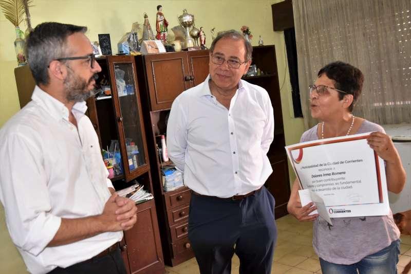 Buenas contribuyentes, Tassano las reconoció por su compromiso ciudadano