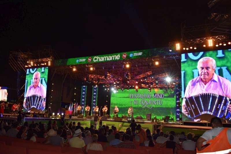 La gastronomía genera un gran impacto económico en la Fiesta Nacional del Chamamé