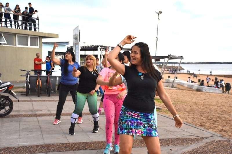 La Municipalidad realiza actividades recreativas y deportivas en diferentes barrios