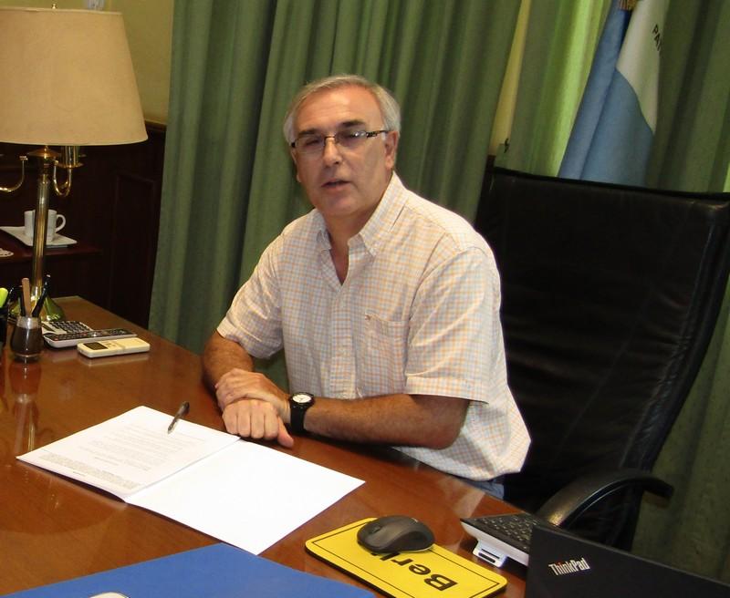 El ministro Anselmo será recibido mañana por su par nacional Basterra