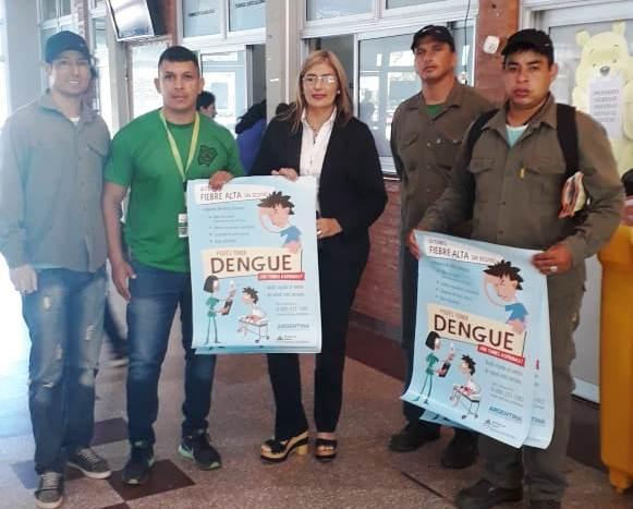Salud realiza tareas de prevención de Dengue en instituciones de la capital