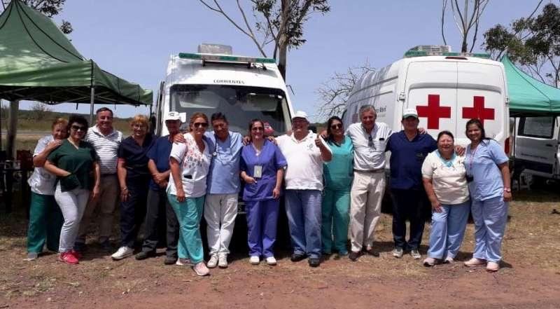 Salud desarrolló un amplio operativo para asistir a los devotos del Gauchito Gil
