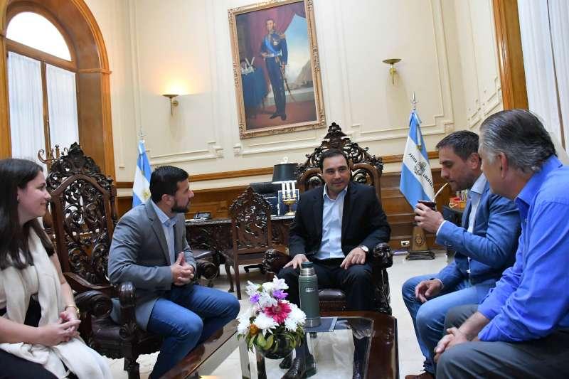 Valdés recibió a Cabandié y acordaron profundizar gestiones para el tratamiento de los RSU