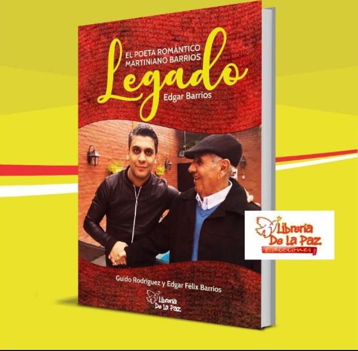 """Presentación del libro """"Legado, el poeta romántico Martín Barrios"""""""
