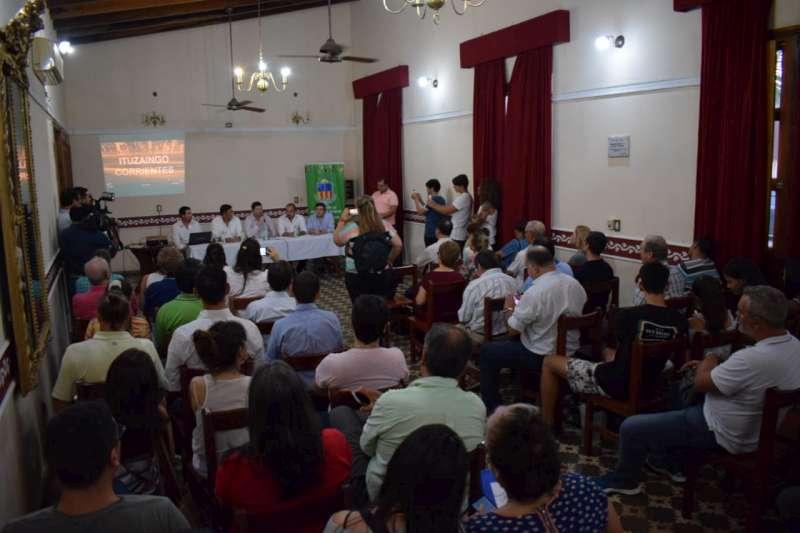 Presentaron en Ituzaingó el proyecto del parque industrial y del puerto