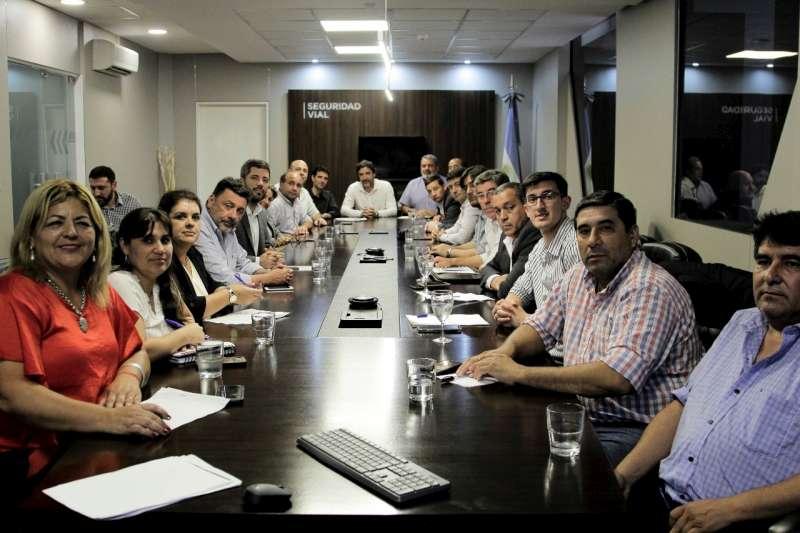 Encuentro con intendentes de Corrientes